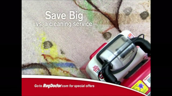 Rug Doctor TV Spot For New Carpet Look - Thumbnail 7