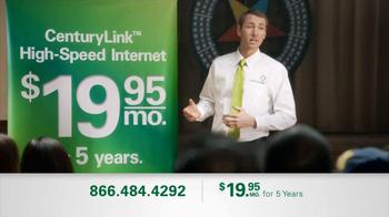 CenturyLink Rate TV Spot, '5 Years' - Thumbnail 1