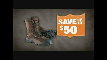 Cabela's Deer Camp Sale TV Spot, 'Hunting Boots'