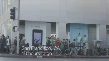 Samsung Galaxy S III TV Spot, 'Ten-Hour Line' - Thumbnail 1