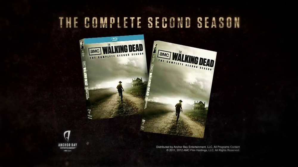 The Walking Dead Season 2 On Blu Ray And Dvd Tv Commercial Video