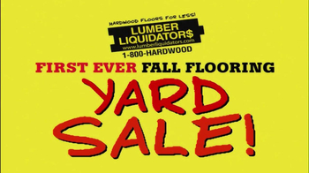 Lumber Liquidators First-Ever Fall Flooring Sale TV Spot - Thumbnail 4