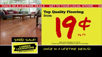 Lumber Liquidators First-Ever Fall Flooring Sale TV Spot - Thumbnail 5