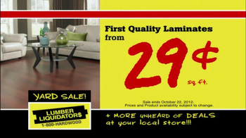 Lumber Liquidators First-Ever Fall Flooring Sale TV Spot - Thumbnail 6