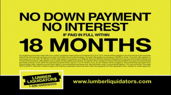 Lumber Liquidators First-Ever Fall Flooring Sale TV Spot - Thumbnail 8