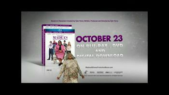 Tyler Perry's Madea's Witness Protection on Blu-Ray and DVD TV Spot