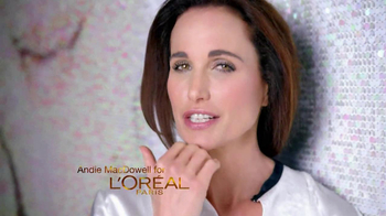 L'Oreal Visible Lift TV Spot Feat. Andie MacDowell