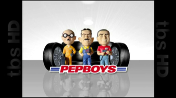 PepBoys TV Spot \'4th Tire Free\'