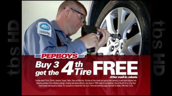 PepBoys TV Spot '4th Tire Free' - Thumbnail 3