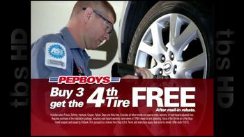 PepBoys TV Spot '4th Tire Free' - Thumbnail 4