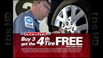 PepBoys TV Spot '4th Tire Free' - Thumbnail 5