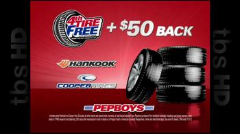 PepBoys TV Spot '4th Tire Free' - Thumbnail 6