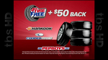 PepBoys TV Spot '4th Tire Free' - Thumbnail 7
