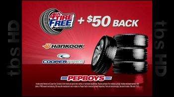 PepBoys TV Spot '4th Tire Free' - Thumbnail 8
