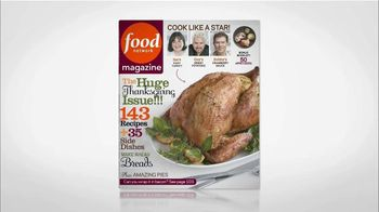 Food Network Magazine TV Spot, 'November 2012'