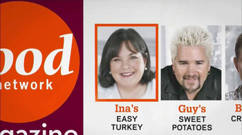 Food Network Magazine TV Spot, 'November 2012' - Thumbnail 2