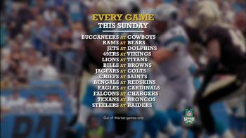 DIRECTV TV Spot, 'NFL Sunday Ticket' - Thumbnail 9