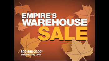 Empire Today Warehouse Sale TV Spot