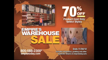 Empire Today Warehouse Sale TV Spot - Thumbnail 6