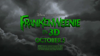 Subway Fresh Fit for Kids TV Spot, 'Frankenweenie' - Thumbnail 10