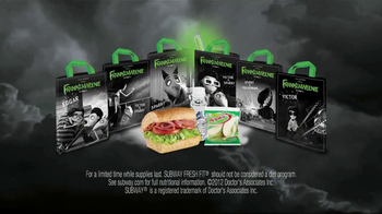 Subway Fresh Fit for Kids TV Spot, 'Frankenweenie' - Thumbnail 7