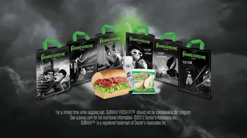 Subway Fresh Fit for Kids TV Spot, 'Frankenweenie' - Thumbnail 8