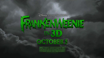 Subway Fresh Fit for Kids TV Spot, 'Frankenweenie' - Thumbnail 9