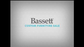 Bassett TV Spot, 'Custom Furniture Sale' - Thumbnail 1