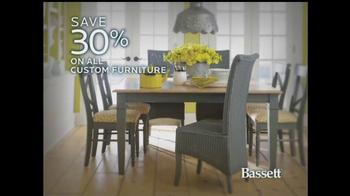 Bassett TV Spot, 'Custom Furniture Sale' - Thumbnail 5