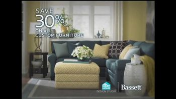 Bassett TV Spot, \'Custom Furniture Sale\'