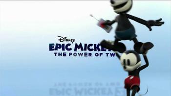 Disney Epic Mickey 2: The Power of Two TV Spot - Thumbnail 8