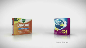 Alka-Seltzer Plus vs. DayQuil TV Spot, 'Runny Nose' - Thumbnail 6