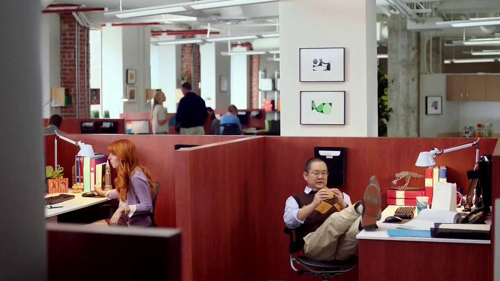 Wendy's Bacon Portobella Melt TV Commercial, 'Lunch' Featuring Aaron Takahashi