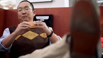 Wendy's Bacon Portobella Melt TV Spot, 'Lunch' Featuring Aaron Takahashi - Thumbnail 2