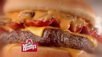 Wendy's Bacon Portobella Melt TV Spot, 'Lunch' Featuring Aaron Takahashi - Thumbnail 4