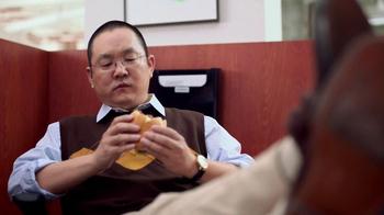 Wendy's Bacon Portobella Melt TV Spot, 'Lunch' Featuring Aaron Takahashi - Thumbnail 5