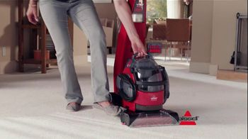 Bissell Liftoff Deep Cleaner TV Spot, 'Carpet Activity'