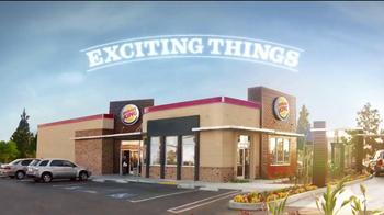 Burger King Cinnabon Minibon Rolls TV Spot, 'Exciting Things' - Thumbnail 1