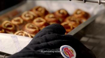 Burger King Cinnabon Minibon Rolls TV Spot, 'Exciting Things' - Thumbnail 3