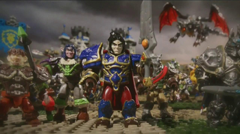 World of Warcraft Mega Bloks TV Spot
