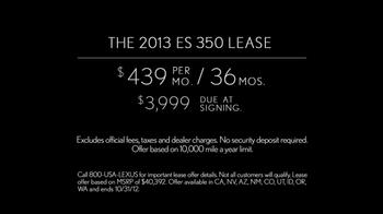 2013 Lexus ES 350 TV Spot Featuring Squeak E. Clean - Thumbnail 10