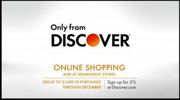 Discover Card TV Spot, 'Online Shopping'