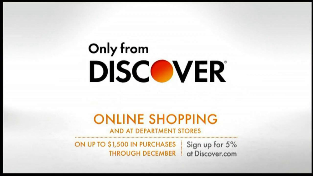 Discover Card TV Commercial, 'Online Shopping'