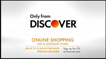 Discover Card TV Spot, 'Online Shopping' - Thumbnail 10