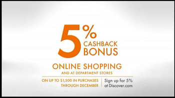 Discover Card TV Spot, 'Online Shopping' - Thumbnail 8