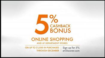 Discover Card TV Spot, 'Online Shopping' - Thumbnail 8