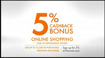 Discover Card TV Spot, 'Online Shopping' - Thumbnail 9