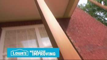 Lowe's Tips TV Spot, 'Deck Decorative Post' - Thumbnail 2