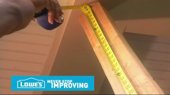 Lowe's Tips TV Spot, 'Deck Decorative Post' - Thumbnail 4