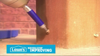Lowe's Tips TV Spot, 'Deck Decorative Post' - Thumbnail 7